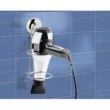 gedy accessori da bagno in metallo con ventosa